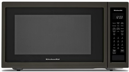 "KMCC5015GBS KitchenAid 22"" 1.5 Cu Ft Countertop Convection Microwave Oven with PrintShield Finish and Roast Function - Black Stainless Steel"