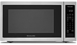 "KMCC5015GSS KitchenAid 22"" 1.5 Cu Ft Countertop Convection Microwave Oven with PrintShield Finish and Roast Function - Stainless Steel"