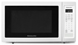 "KMCS1016GWH KitchenAid 22"" 1.6 Cu Ft Countertop Microwave Oven with Timed Defrost and 9 Quick-Touch Cycles - White"