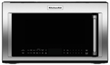 "KMHC319ESS KitchenAid 1.9 Cu. Ft. 1000w Convection Over the Range 30"" Microwave - Stainless Steel"
