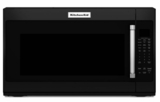 "KMHS120EBL KitchenAid 2.0 Cu. Ft. 1000w Over the Range 30"" Microwave - Black"