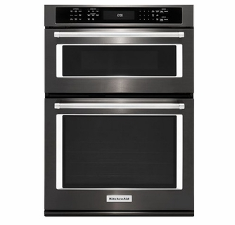 Koce507ebs Kitchenaid 27 Combination Wall Oven With Even