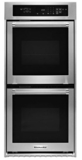 "KODC304ESS KitchenAid 24"" Double Wall Oven with True Convection - Stainless Steel"