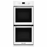 "KODC304EWH KitchenAid 24"" Double Wall Oven with True Convection - White"
