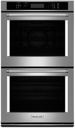 Kode307ess Kitchenaid 27 Quot Double Wall Oven With Even Heat