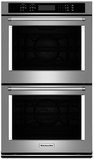 "KODE507ESS KitchenAid 27"" Double Wall Oven with Even-Heat True Convection - Stainless Steel"