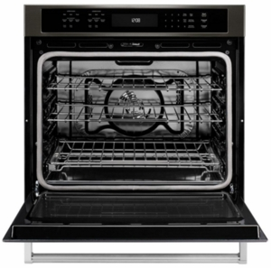 "KOSE500EBS KitchenAid 30"" Single Wall Oven with Even-Heat and True Convection - Black Stainless Steel"