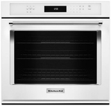 """KOSE500EWH KitchenAid 30"""" Single Wall Oven with Even-Heat True Convection - White"""