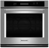 """KOSE507ESS KitchenAid 4.3 Cu. Ft. 27"""" Single Wall Oven with Even-Heat True Convection - Stainless Steel"""