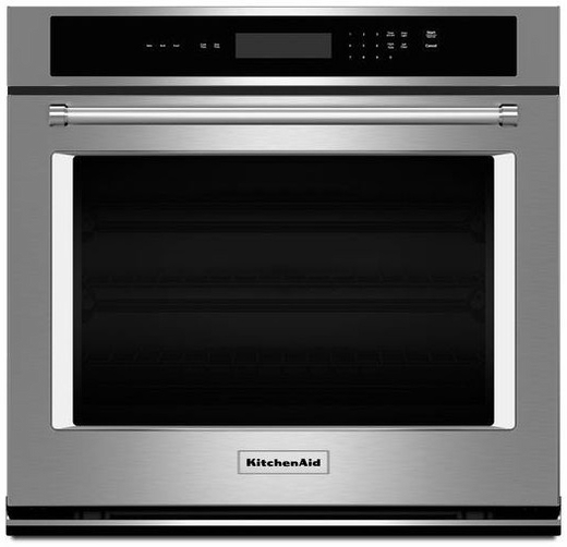 Kost100ess kitchenaid 5 0 cu ft 30 single wall oven for Kitchenaid 0 finance