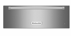 """KOWT107ESS KitchenAid 27"""" Slow Cook Warming Drawer with Custom Control Technology - Stainless Steel"""