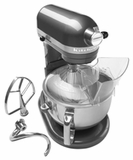 KP26M1XPM KitchenAid Professional 600 Mixer with 575 Watt Motor - Pearl Metallic