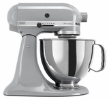 KSM150PSMC KitchenAid Artisan Series 5 QT. Stand Mixer - Metallic Chrome