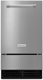 "KUID308ESS KitchenAid 18"" Automatic Icemaker with Clear Ice Technology - Stainless Steel"