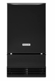 "KUIS18PNZB KitchenAid 18"" Outdoor Automatic Ice Maker with Clear Ice Technology and Integrated Filter - Black"