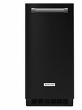 "KUIX305EBL KitchenAid 15"" Automatic Ice Maker with Clear Ice Technology and Integrated Filter - Black"
