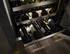 "KUWR304ESS KitchenAid 24"" Wine Cellar with Glass Door (Right Hinge) and Metal-Front Racks - Stainless Steel"