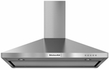KVWB406DSS KitchenAid 36'' Wall-Mount 3-Speed Canopy Hood with 400 CFM Blower - Stainless Steel