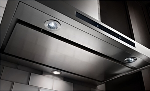 KVWB606DSS KitchenAid 36'' Wall-Mount 3-Speed Canopy Hood with 600 CFM Blower - Stainless Steel