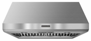 """KXW8736YSS KitchenAid Commercial Style 36"""" Wall Mount Canopy Hood - Stainless Steel"""