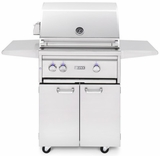 "L27TRFLP - Lynx 27"" Freestanding Professional Outdoor Grill with 1 Trident Burner and Rotisserie - Liquid Propane"