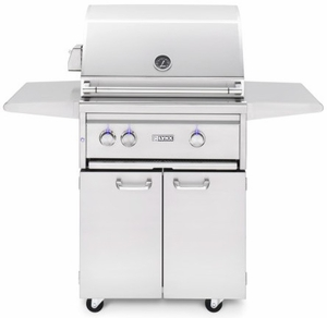 "L27TRFNG - Lynx 27"" Freestanding Professional Outdoor Grill with 1 Trident Burner and Rotisserie - Natural Gas"