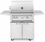 "L30ATRFNG Lynx 30"" Freestanding Grill with  All Trident Burners and Rotisserie - Natural Gas - Stainless Steel"