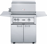 """L30ATRFNG Lynx 30"""" Freestanding Grill with  All Trident Burners and Rotisserie - Natural Gas - Stainless Steel"""