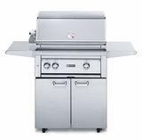 """L30TRFNG - Lynx 30"""" Freestanding Professional Outdoor Grill with 1 Trident Burner and Rotisserie - Natural Gas"""