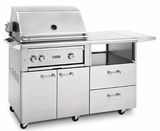 "L30TRMNG Lynx 30"" Freestanding Grill with One Trident Burner and Rotisserie - Natural Gas - Stainless Steel"
