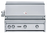 """L36R1NG- Lynx 36"""" Built-In Professional Outdoor Grill with Rotisserie- Natural Gas"""