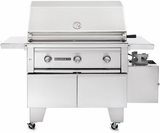 """L600ADANG Lynx Sedona ADA Compliant 36"""" Outdoor Grill with 1 Prosear Burner & 1 SS Burner - Natural Gas - Stainless Steel"""