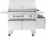"""L600ADALP Sedona by Lynx ADA Compliant 36"""" Outdoor Grill with 1 Prosear Burner & 1 SS Burner - LP Gas - Stainless Steel"""