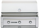 """L600PSLP Sedona by Lynx 36"""" Built-in Grill with (2) Stainless Steel Burners & ProSear Burner - LP Gas - Stainless Steel"""