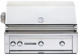 """L600PSRNG Sedona by Lynx 36"""" Built-in Grill with (2) Stainless Steel Burners, ProSear Burner & Rotisserie - Natural Gas - Stainless Steel"""