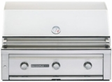 """L600RNG Sedona by Lynx 36""""  Built-In Grill with 891 sq. in. Grilling Area with  4 Stainless Steel Burners and Rotisserie - Natural Gas - Stainless Steel"""