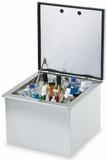 "LDC18 Lynx 18"" Drop-in 1.7 Cu. Ft. Cooler with Soft Close - Stainless Steel"