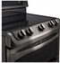 LDE4413BD LG Freestanding 7.3 Cu. Ft. Electric Double Oven Range with Probake Convection - Black Stainless Steel