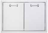 LDR636 Lynx Sedona 36 Inch Double Access Doors - Stainless Steel