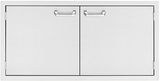 LDR742 Lynx Sedona 42 Inch Double Access Doors - Stainless Steel