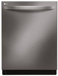 "LDT7797BD LG 24"" Signature Series Top Control Tall Tub Dishwasher with SmoothTouch Controls and QuadWash - Black Stainless Steel"