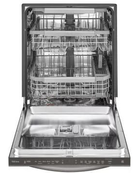 "LDT7797ST LG 24"" Signature Series Top Control Tall Tub Dishwasher with SmoothTouch Controls and Quadwash - Stainless Steel"