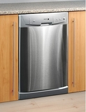 "LFA45X Fagor 18"" Fully Integrated Built-in Dishwasher with 6 Wash Cycles - Stainless Steel"