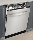 "LFA75IT Fagor 24"" Euro Tub Built-in Fully Integrated Dishwasher with 6 Wash Cycles - Custom Panel"
