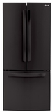LFC22770SB LG LG 21.6 Cu. Ft French Door Refrigerator with Dual Temp Controls - Black