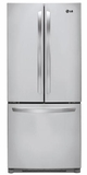 LFC22770ST LG 21.6 Cu. Ft French Door Refrigerator with Dual Temp Controls - Stainless Steel