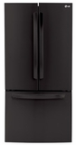 LFC24770SB LG Ultra Capacity 3 Door French Door Refrigerator - Black