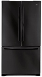 LG French Door Refrigerators - Black