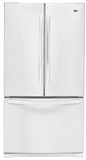 LG French Door Refrigerators - WHITE