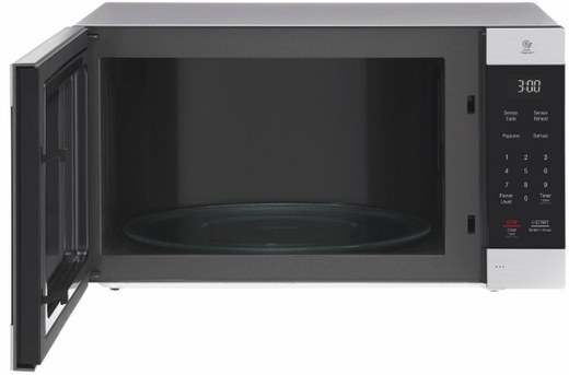 """LMC2075ST LG 24"""" NeoChef Countertop Microwave Oven with SmoothTouch Glass Touch Controls and EasyClean Interior - Stainless Steel"""